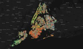 map pinpoints every tree in nyc wired