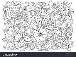 coloring page flower pattern coloring pages coloring page and