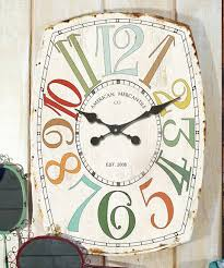 vip home decor look at this zulilyfind tall wood wall clock by vip