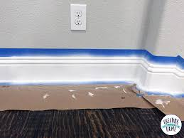 How To Get Scuff Marks Off Walls by How To Paint Trim Like A Boss Creatingmaryshome Com