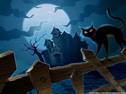 halloween backgrounds scary halloween cat wallpapers wallpaper cave