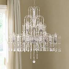 Moroccan Crystal Chandelier Transitional Foyer Chandeliers Lamps Plus
