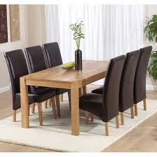 Dining Table And Chairs For 6 6 Chair Dining Table Set Ispcenter Us