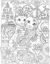 freebie cat mandala coloring u2013 stamping