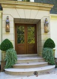 Sapele Exterior Doors Careygate A Closeup Of The Entryway Rusticated Limestone By