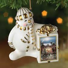 terry redlin snowman ornament crown they wings gallery