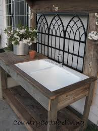 Diy Outdoor Sink Station by Ideas Potting Bench Bar Potting Bench With Sink Steel Potting