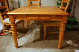 Refinishing Wood Dining Table Dining Tables Stylish Decoration Refinishing Dining Table