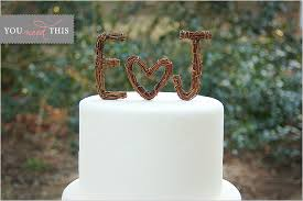 rustic wedding cake topper you need this rustic twig wedding cake toppers