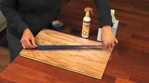 Removing Scratches From Laminate Flooring Scratchaway Floor Scratch Hider Wmv Youtube