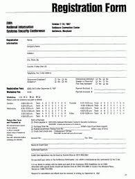 Registration Form Template Excel Registration Form Templates Find Word Templates