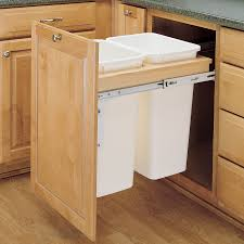 how to build pull out trash can cabinet optimizing home decor ideas image of pull out trash can cabinet dimensions