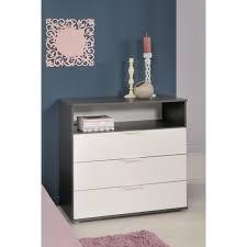 stanley commode chambre enfant style contemporain décor blanc et