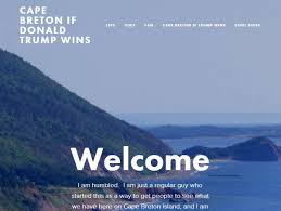 cape breton gets windfall of attention from trump wary americans