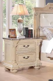 homelegance russian hill night stand antique white 1808w 4