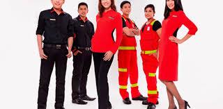 airasia uniform celest thoi designs ground crew uniforms for airasia malaysia tatler