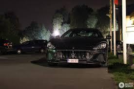 2017 maserati granturismo sport matte black maserati granturismo sport 2018 23 september 2017 autogespot