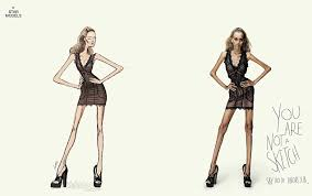 powerful anti anorexia ad campaign tells women u0027you are not a
