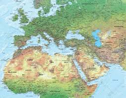 africa map physical physical digital map europe africa middle east 1316 the