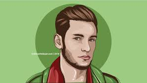 vector skin tone tutorial vector portraits its cool man illustrator tutorials ikhsan hidayat