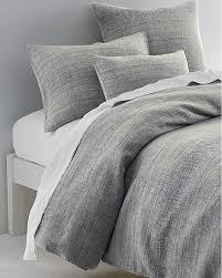 Linen Covers Gray Print Pillows White Walls Grey Eileen Fisher Ombré Cotton Linen Duvet Cover And Sham Garnet Hill