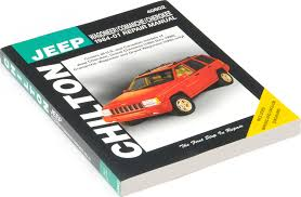chilton 40602 repair manual for 84 98 jeep cherokee xj comanche