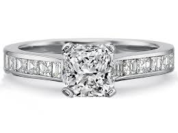 Square Wedding Rings by Radian Engagement Rings From Mdc Diamonds Nyc