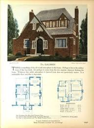antique home plans the 1929 hobson eclectic english revival home builders catalog
