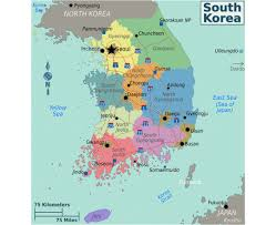 Map Of World Korea by Maps Of South Korea Detailed Map Of South Korea In English