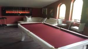 modern billiard table manhattan modern pool table white youtube