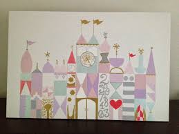 baby u0027s room projects custom it u0027s a small world painting and