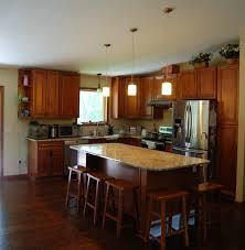 walnut cabinets kitchen kitchen decoration