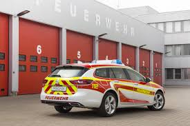 fiery red fire engines opel insignia sports tourer and opel