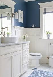 inspired bathroom pretty and fresh navy and white coastal inspired bathroom