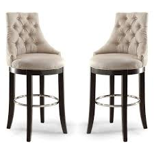 24 Bar Stool With Back Bar Stools White Stripes In Stool Fabric Bar Stools With Back 24