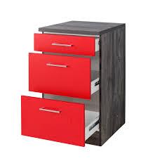 unterschrank k che 60 cm küchen unterschrank sevilla 3 schubladen 50 cm breit rot