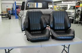 Classic Ford Truck Bench Seats - prepping a cab and mounting custom bucket seats rod network