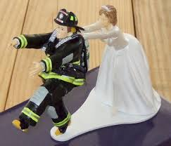 fireman wedding cake toppers wedding cake toppers angel wedding cake toppers