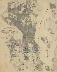 Lake Washington Map by King County