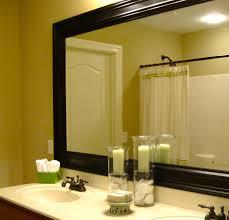 Bathroom Framed Mirrors Frames For Bathroom Mirrors Lowes Beautiful Lowes Bathroom Mirrors