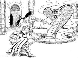 drawing king cobra coloring pages kids play color with king cobra
