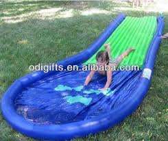 Backyard Water Slide Inflatable by Best 25 Inflatable Water Slides Ideas On Pinterest Blow Up Pool