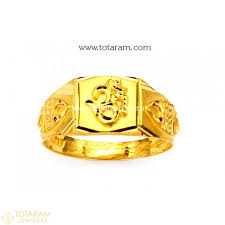 verlobungsring fã r mã nner gold rings for in 22k gold indian gold jewelry from totaram
