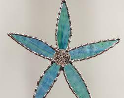 starfish suncatcher etsy