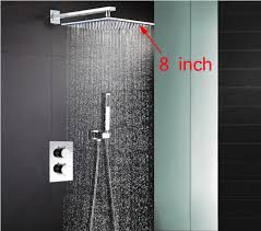 Bathroom Shower Systems Thermostatic Shower Mixer Valve Set Thermostat Mixing Valve