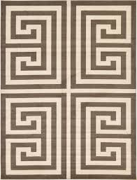 Large Contemporary Rugs Geometric Modern Greek Design Area Rug Large Contemporary Small