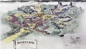 Disney Maps Originals Disneyland Maps And The Walt Disney Picture You Never
