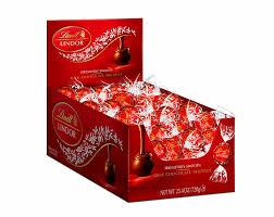 amazon com lindt lindor milk chocolate truffles kosher 60