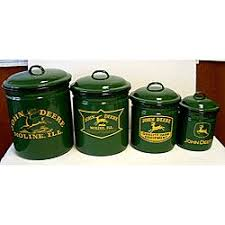 deere kitchen canisters deere canister sets and canisters on