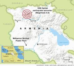 Map Of Armenia Is Armenia U0027s Nuclear Plant The World U0027s Most Dangerous Page 2